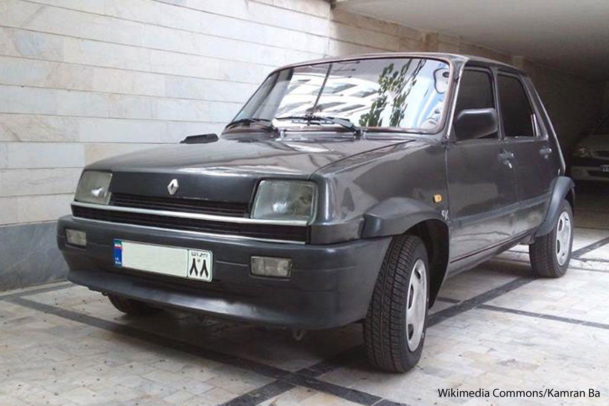 PK P.K. Pars Khodro Renault 5 Kia Pride