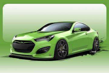 Tweede Hyundai Genesis Coupé klaar voor SEMA