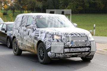 Spyshots nieuwe Land Rover Discovery