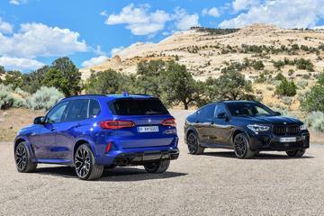 Dit kosten de BMW X5 en X6 M (Competition)