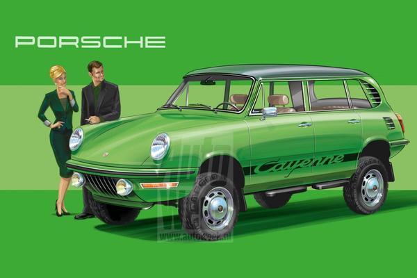 Zijn Tijd Vooruit: Porsche Cayenne