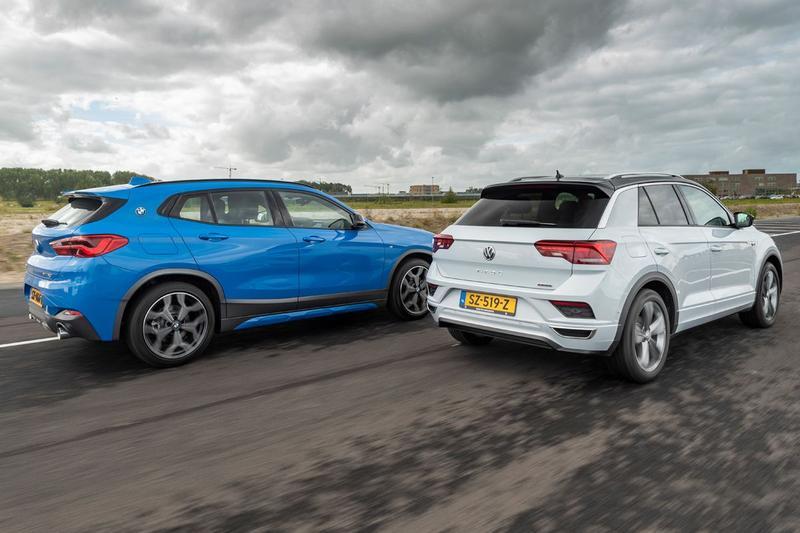 BMW X2 vs. Volkswagen T-Roc - Dubbeltest