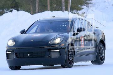 Mysterieuze Porsche gesnapt