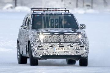 Nieuwe Range Rover Sport opgedoken
