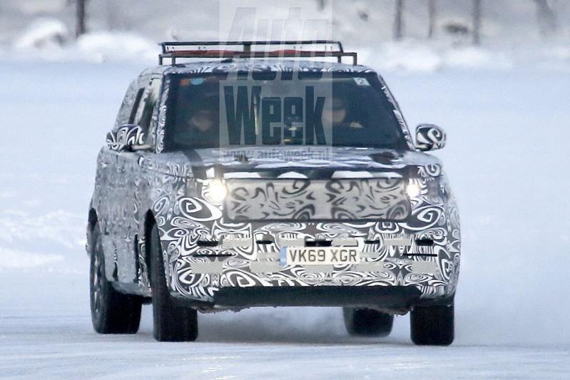 Range Rover Sport spionage