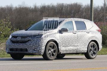 Spyshots nieuwe Honda CR-V