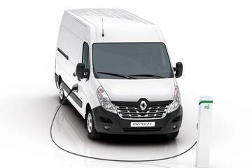 Renault Master nu ook als Z.E.