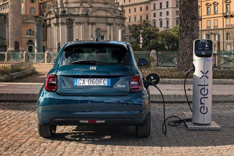 Test Fiat 500e Electric