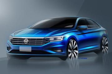 Volkswagen Jetta opnieuw in beeld