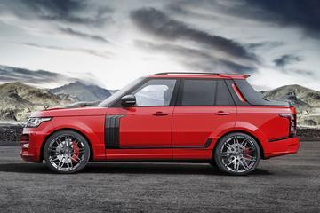 Startech maakt pick-up van Range Rover