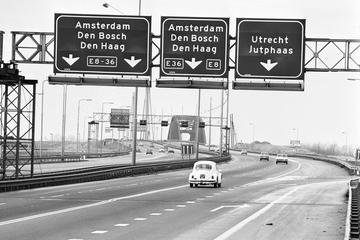 Geschiedenis van de maximumsnelheid - De Vluchtstrook