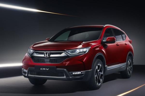 Europese versie Honda CR-V in Genève