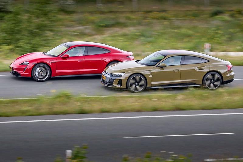 Audi E-tron GT vs. Porsche Taycan - Dubbeltest