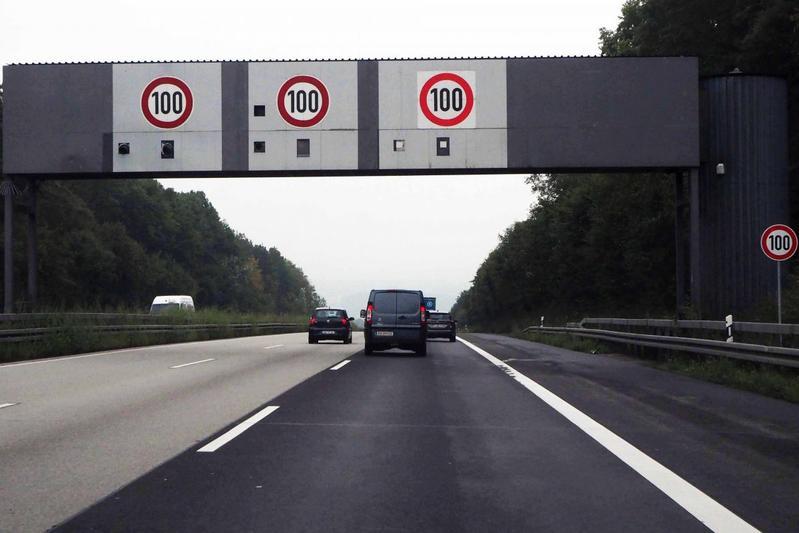 duitsland autobahn radar elzer berg a3 snelheidscontrole
