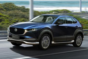 Elektrische Mazda CX-30 EV: tot 450 kilometer actieradius