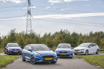 Ford Focus - Kia Ceed - Opel Astra - Volkswagen Golf