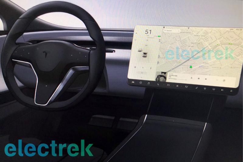 'Tesla geeft Model S en Model X nieuw dashboard'