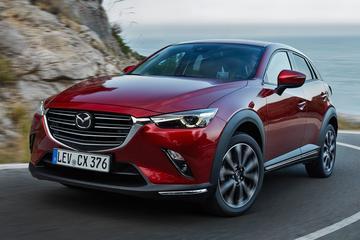 Update voor Mazda CX-3 kleedt gamma uit