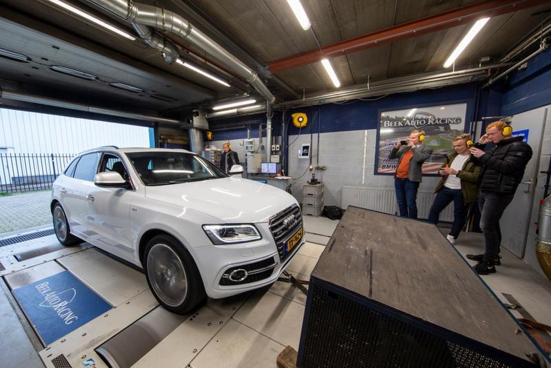 Audi SQ5 - Op de Rollenbank