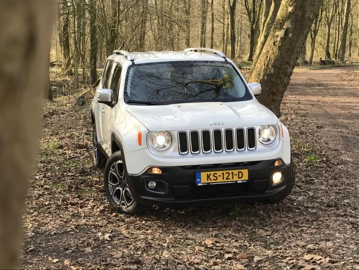Jeep Renegade 1.4 MultiAir AWD Limited (2016)