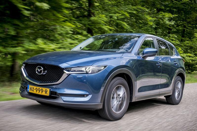 Nieuw Mazda CX-5 SkyActiv-G 165 (2017) Autotest - AutoWeek.nl FU-91