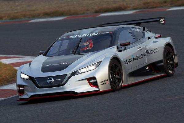 Nissan Leaf opnieuw als Nismo RC