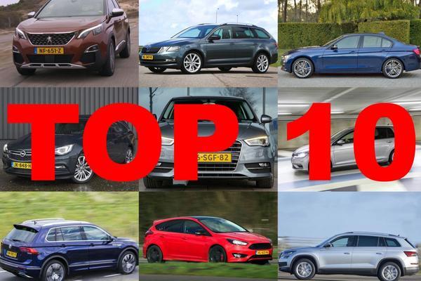 Jaarknallers: Top 10 meest gezochte nieuwe auto's