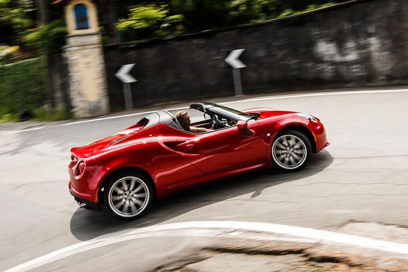 Rij-impressie - Alfa Romeo 4C Spider