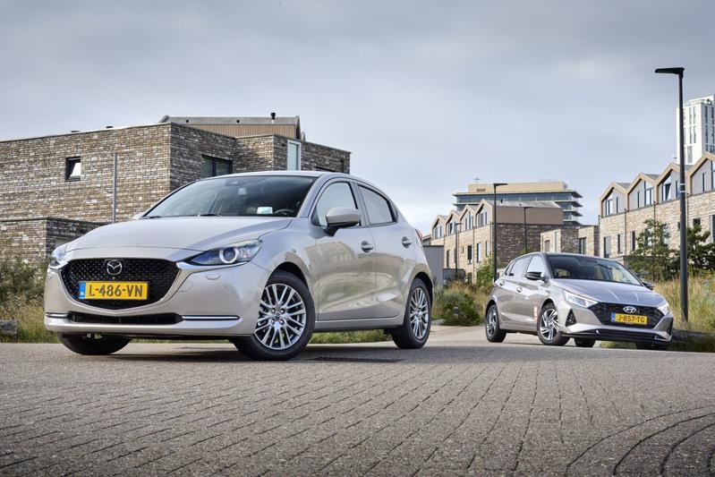 Mazda 2 - Hyundai i20 - Dubbeltest