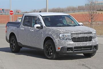 Nieuwe Ford Maverick: stapje onder de Ranger