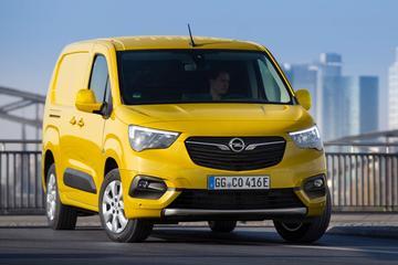 Elektrische Opel Combo e-Cargo op de prijslijst