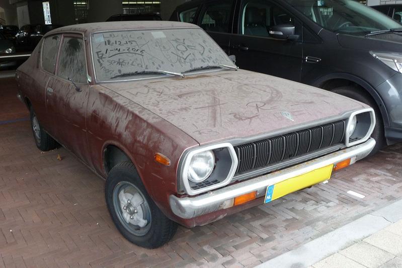 In het wild: Datsun Cherry 120A (1979) | Autonieuws ...