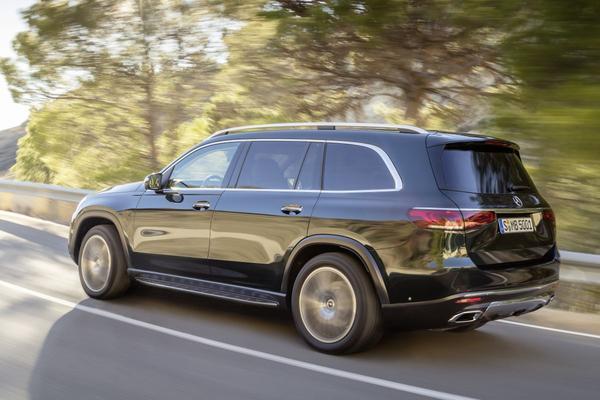 Mercedes-Benz GLS krijgt nieuwe benzineversie