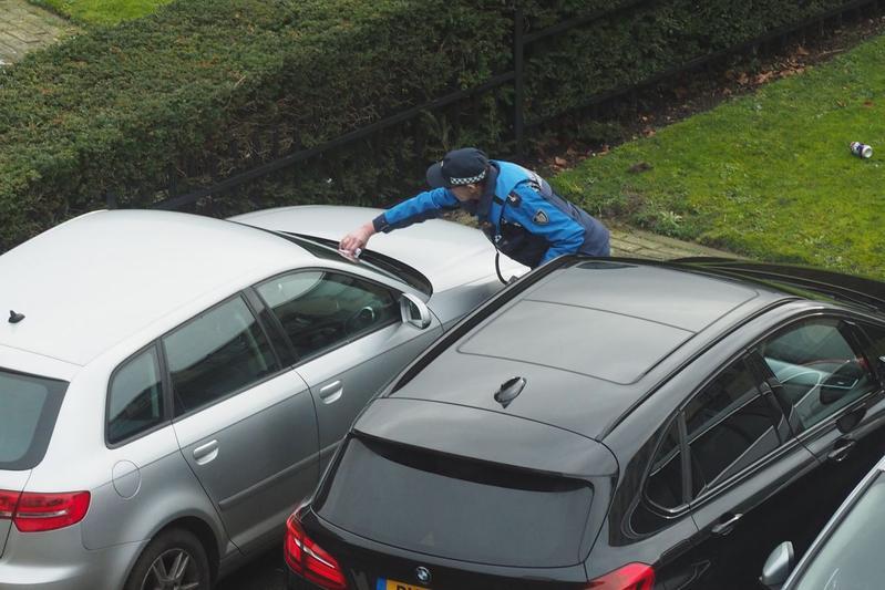 parkeerboete bekeuring parkeerwacht parkeerpolitie