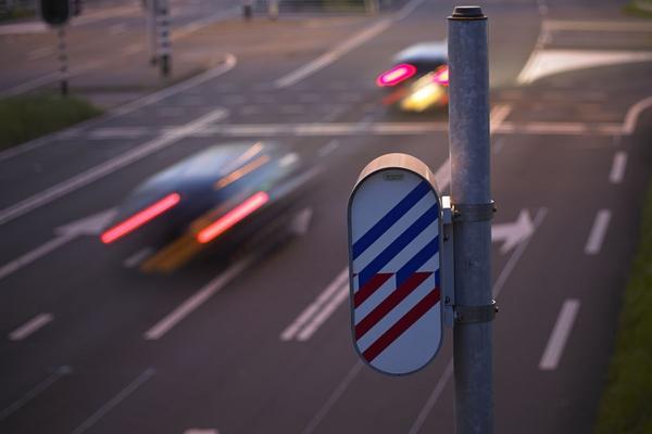 Minder verkeersboetes in 2017