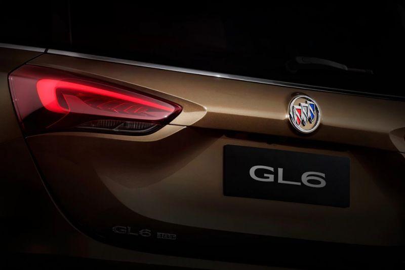 Buick teaset GL6
