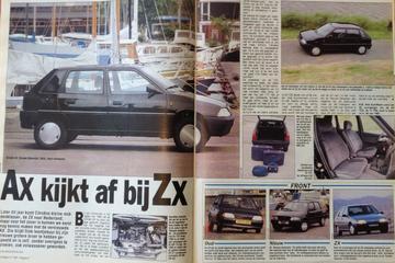 Citroën AX facelift - Rijtest - Uit de Oude Doos