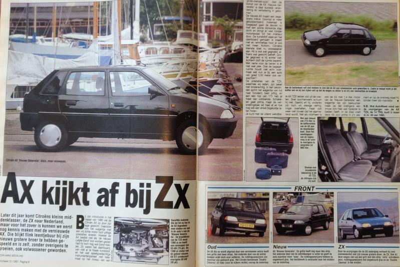 Citroën AX AutoWeek 1991