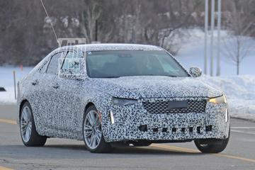 Gesnapt: Cadillac CT4