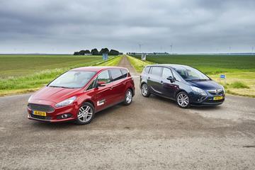 Ford S-Max 1.5 Ecoboost vs. Opel Zafira 1.6 Turbo 170 pk