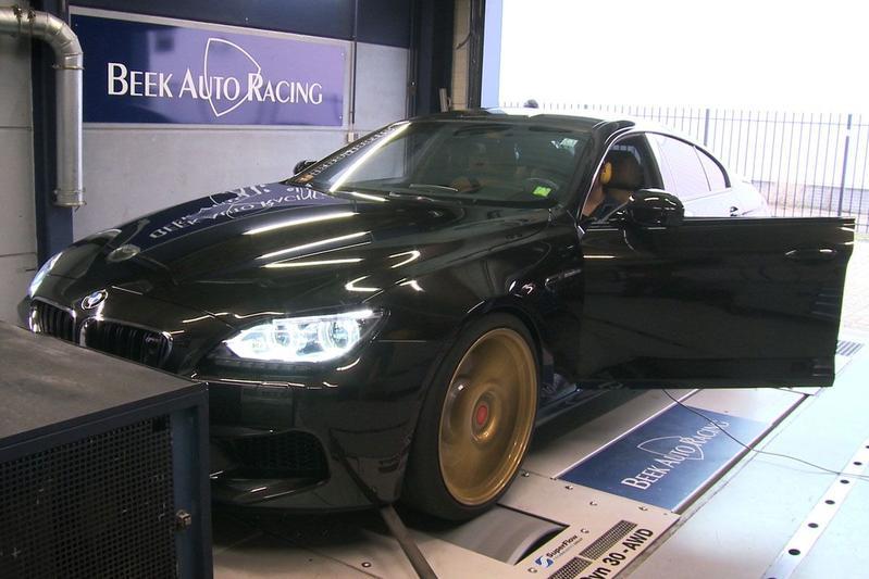 BMW M6 Gran Coupe - Op de Rollenbank