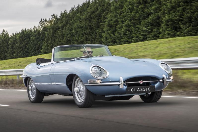 Jaguar E-Type Zero: elektrische klassieker