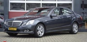 Mercedes-Benz E 350 CGI BlueEFFICIENCY Elegance (2010)