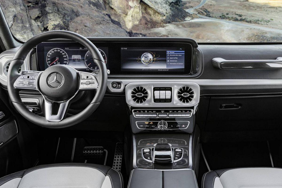 Vanbinnen Mercedes Benz G Klasse Autoweek Nl