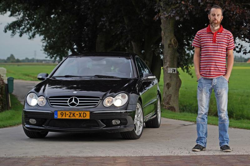 Mercedes-Benz CLK 55 AMG - Blits Bezit