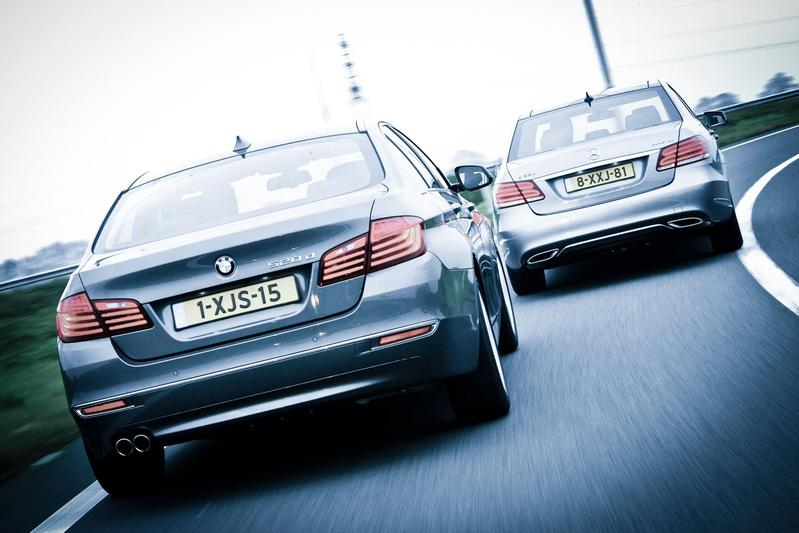 Mercedes-Benz E 220 Bluetec - BMW 520dA Efficient Dynamics