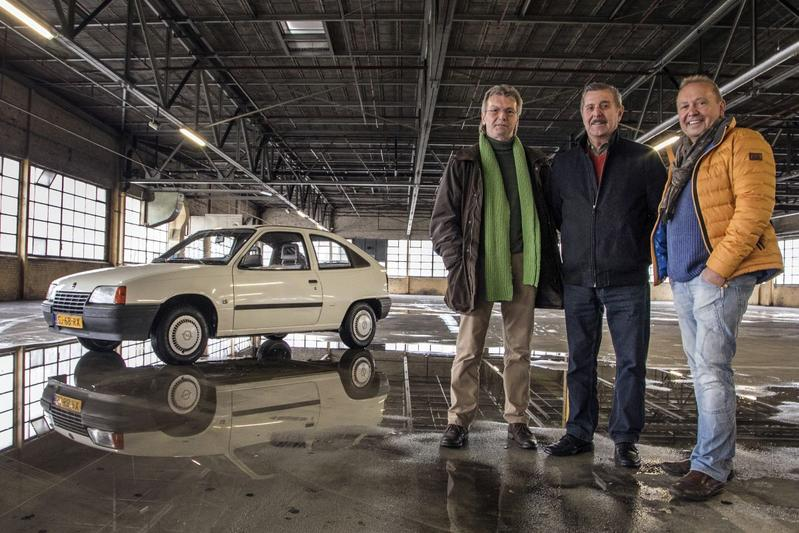 Ludo Prinsen. Gerrit Vervoort en Rony Macharis denken – met honderden anderen – nog dagelijks aan D'n Opel.