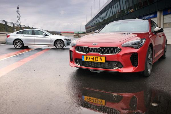 Video: BMW 440i Gran Coupé vs. Kia Stinger dubbeltest