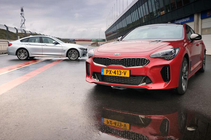 BMW 440i Gran Coupé vs. Kia Stinger dubbeltest