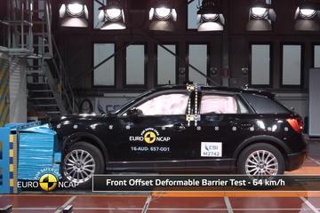Audi Q2 Crashtest Euro NCAP